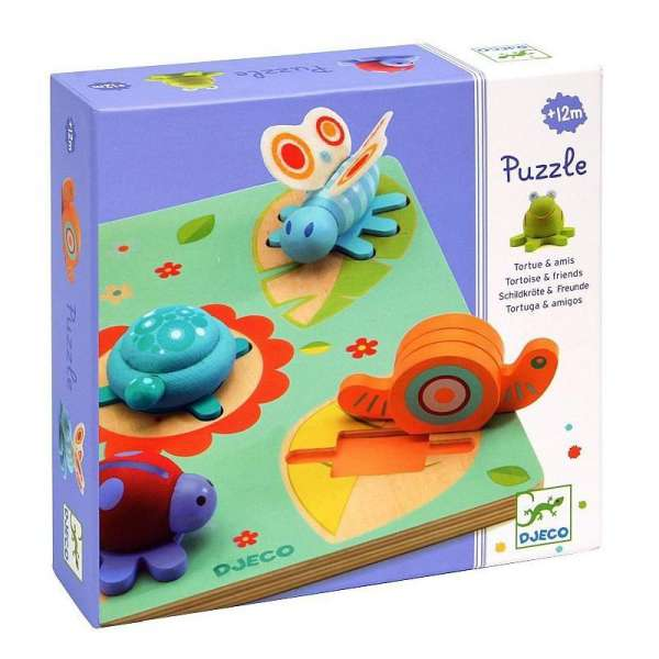PUZZLE EASY GRIP 3D - LILO
