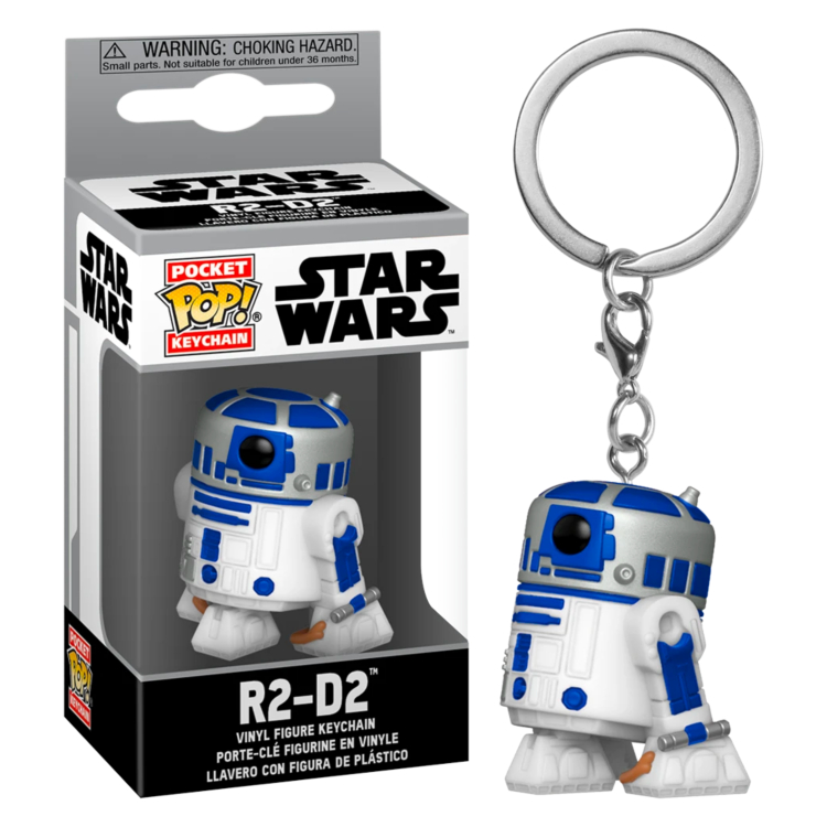 STAR WARS - POP! KEYCHAIN: R2-D2